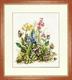 Схема для вышивки крестом полевые цветы